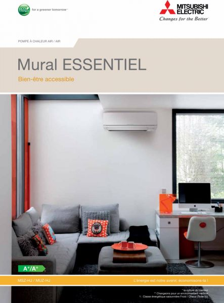 installation d 39 une pompe chaleur r versible monosplit. Black Bedroom Furniture Sets. Home Design Ideas
